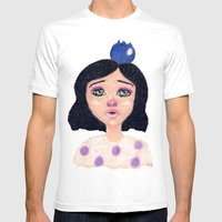 Sophia Mens Fitted Tee White SMALL