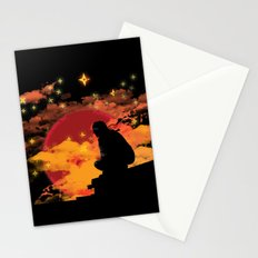 NINJA NIGHT SHOWDOWN Stationery Cards