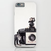iPhone & iPod Case featuring The Monkies and The Brownie by Susannah Tucker