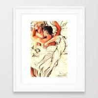 Origin Of Love #6  Framed Art Print