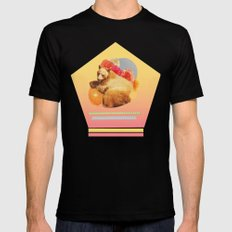 in the warm july sun Black SMALL Mens Fitted Tee