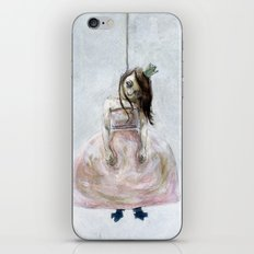 sad princess iPhone & iPod Skin