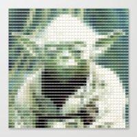 Yoda - StarWars - Panton… Canvas Print