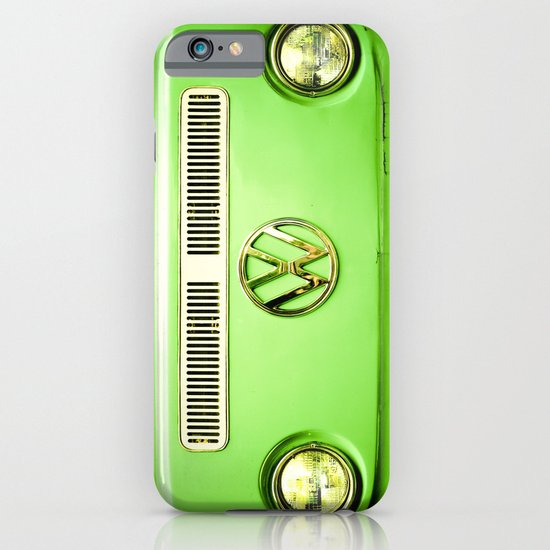 Summer of Love - Groovy Green iPhone & iPod Case