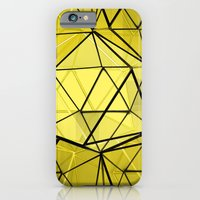 iPhone & iPod Case featuring hexagonal dreaming by vin zzep