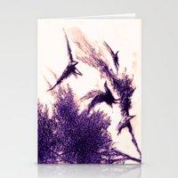 gecenin kanatları Stationery Cards