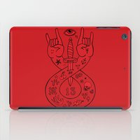lament red iPad Case