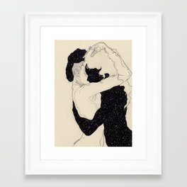 Framed Art Print - You Are The Theory In My Head - Kaethe Butcher