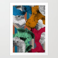 Bound In Stone Art Print