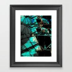 Contact Fail Framed Art Print