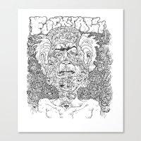 Fuck It All Canvas Print