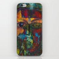 Face#4 iPhone & iPod Skin