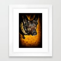 Loyal Framed Art Print