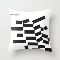 Piano Signori Throw Pillow