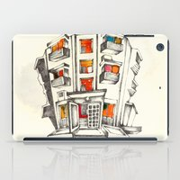Japanese Building iPad Case