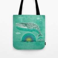 Whale Future Tote Bag