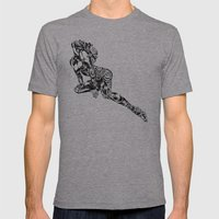 Oopsy Mens Fitted Tee Athletic Grey SMALL