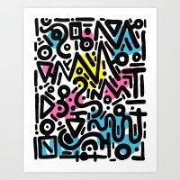 ABSTRACT 012 Art Print