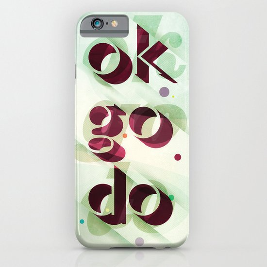 Ok Go Do iPhone & iPod Case