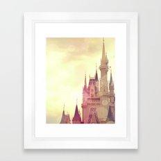 Disney Cinderella Castle Framed Art Print