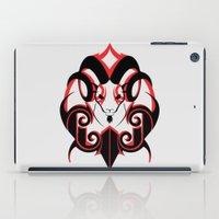 Warrior (Black & Red) iPad Case