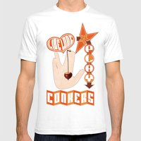 Live Long Play Conkers Mens Fitted Tee White SMALL