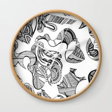 MexicandatewithMargaritas Wall Clock
