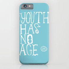 Youth Has No Age (Blue) iPhone 6s Slim Case