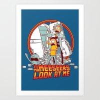 I'm Mr Meeseeks, Look At… Art Print