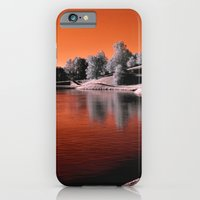 iPhone & iPod Case featuring Infrared Sunrise by Anthony M. Davis