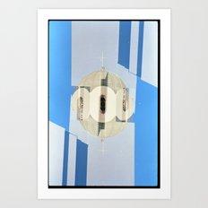 Landscapes c20 (35mm Double Exposure) Art Print