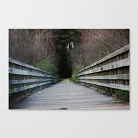 Be aware of your surroundings Canvas Print