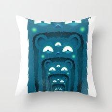 SALVAJEANIMAL BOCA Throw Pillow