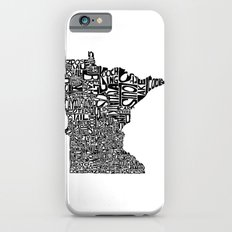 Typographic Minnesota iPhone 6 Slim Case