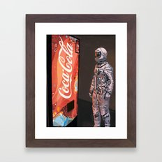 The Coke Machine Framed Art Print