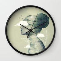 Geo Dress Wall Clock