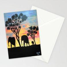 Sunset Travelers  Stationery Cards