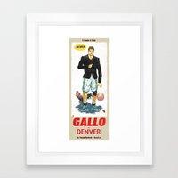 Gallo di Denver Framed Art Print