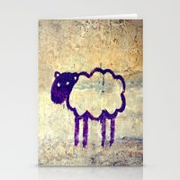 Just a Sheep Stationery Cards