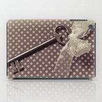 Vintage key iPad Case