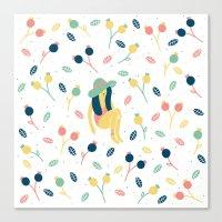 Fruta Canvas Print