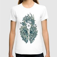 Lichen Womens Fitted Tee White SMALL