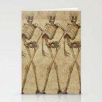 Walking Skeleton Beautie… Stationery Cards