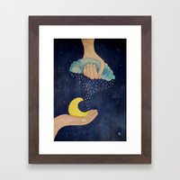 Handmade Night Framed Art Print