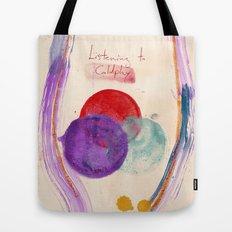 Painting & Coldplay Tote Bag