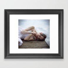 Clouds 1 Framed Art Print
