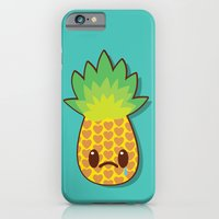 iPhone & iPod Case featuring Weeping Ananas by Ruben Toxværd