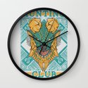 Hunting Club: Jinouga Wall Clock