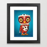 Owly Framed Art Print