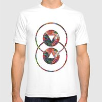 Artificiality Mens Fitted Tee White SMALL